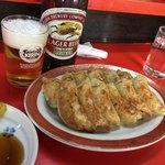 新ちゃん - 料理写真:ビール&餃子☆ヽ(*´∀.`)b