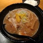 83439425 - 柚子魚介豚骨ラーメン
