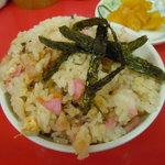 香蘭 - セットの炒飯