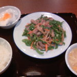 香港食堂  - チンジャオ定食