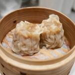 頂上麺 筑紫樓 ふかひれ麺専門店  - ふかひれシューマイ(2個)420円