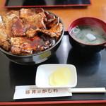 豚丼のかしわ - 料理写真:豚丼大(1250円)