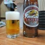 大衆食堂 山田屋 - 瓶ビール