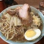 83442309 - ラーメン(麺少なめ・ニンニク)