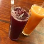 甲州ほうとう 百間 - 山梨トップレベルの果汁ジュース各種