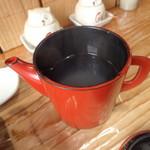郷土料理 奈辺久 - そば湯という名のお湯