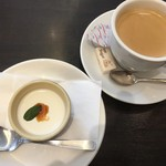 BUONO - パンナコッタ&ホットコーヒー