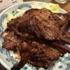 骨付きカルビーの店 げん氣亭 - 料理写真:骨つきカルビのアップ