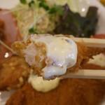 キャプテン海舟 - ミックスフライ定食