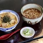 成仁 - 料理写真:カツ丼(ころそば中盛)