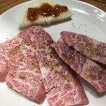 ミスター焼肉 - 上カルビ塩 1480円