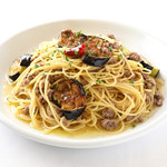ひき肉と茄子のスパゲッティ