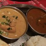 インド料理 MUTHU - チキンカレー&マトンカレー