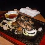 8346156 - 宮崎名物ひな鷄もも肉の黒炭炙り焼