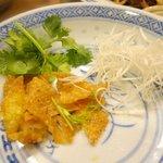 杏杏 - 中華粥のトッピング