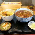83461545 - ミニ天丼セット(950円)