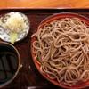 中村 - 料理写真:手打ちもりそば630円