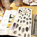 マンゴツリー カフェ - その他写真:メニュー。