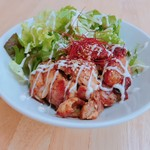 ハンバーグカフェVeggy - 照り焼きキチン丼