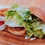 ハンバーグカフェVeggy - ハンバーガー