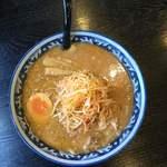 らーめん食堂 れんげ - ネギ味噌ラーメン(半麺)