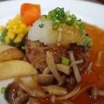 レストランせんごく - 「ハンバーグ」 アップ