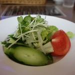 レストランせんごく - 「野菜サラダ」とても新鮮