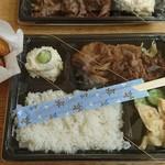 栗山精肉店 - 料理写真:焼肉弁当