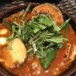 83467525 - 野菜カレー+チキン