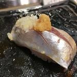 第三春美鮨 - 真鰺 106g 瀬付き 釣 兵庫県沼島