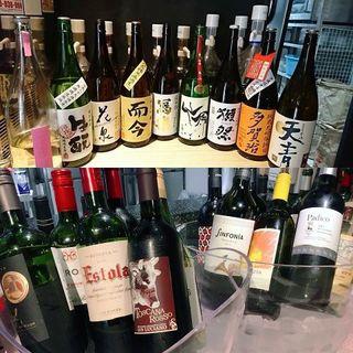 ヨーロッパ中心のワインと地酒