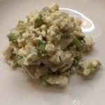 83469623 - たらの芽と豆腐の和え物