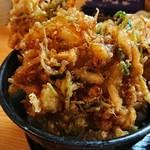 鳳翠 - 小柱のかき揚げ丼       ¥1000