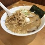 龍龍 - とき玉子麺(小盛り)       ¥700
