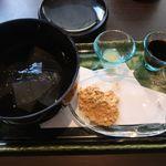香炉庵 茶寮 - わらび餅
