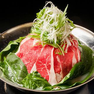 ◆名物◆北海道産牛肉使用!秘伝タレが後引く【白湯牛宝すき】