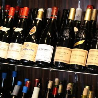 150種の秀逸ワインリストで彩る和食との新感覚マリアージュ◎