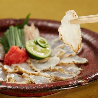 山口県下関・萩の上質食材を東京・西麻布の当店でどうぞ!