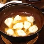 タンテール富士 - ☆テールスープの餃子 950円