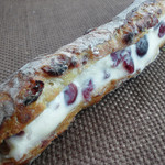 Boulanger le coeur - クランベリーフランスのクリームチーズサンド拡大。