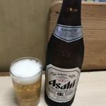 江戸政 - とりあえず瓶ビール