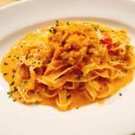 イタリアン&バール アルバータ - 濃厚!生ウニのトマトクリームソース
