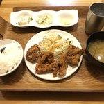 わたしの食卓 - 元祖から揚げ定食