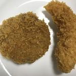 栄屋肉店 - メンチカツ 税込100円 ササミカツ 税込120円