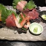 梵天丸 - 季節の鮮魚御造り & 馬刺し