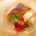イタリアン&バール アルバータ - ブリュレ風ベイクドチーズケーキ