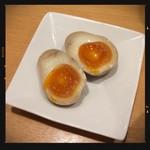 寿限無 担々麺 - サービスの味玉