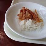 """ベトナム料理レストラン 333 - """"コムガー""""はベトナム版の海南鶏飯。"""
