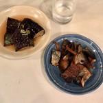 鈴傳 - 鰊&茄子の煮浸し