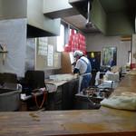 まるきん - 「まるきん」厨房